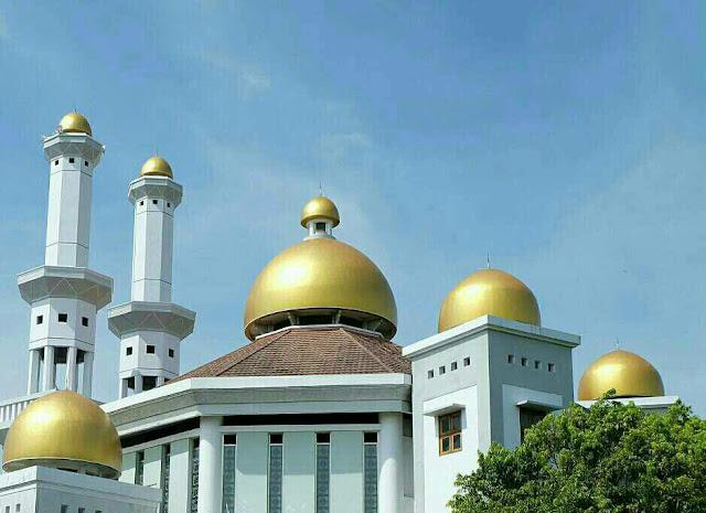 Masjid di sekitar pantura Pekalongan, masjid al ikhlas Jetayu Pekalongan