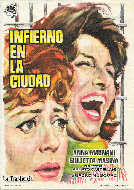 Infierno en la Ciudad - Programa de Cine - Anna Magnani - Giulietta Masina