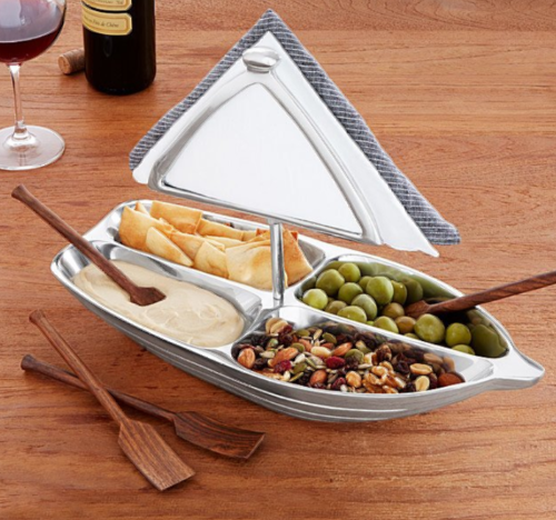 Nautical Cocktail Hour Boat Snack Serving Bowl