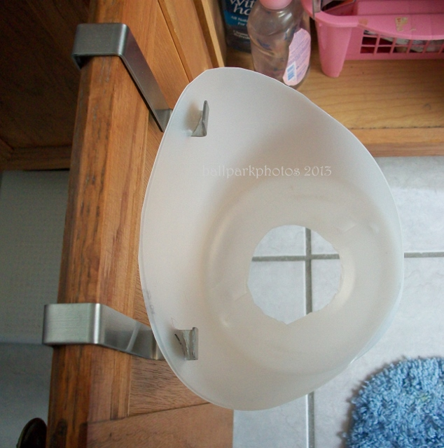 top view dryer holder