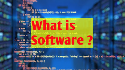 What is software , Software