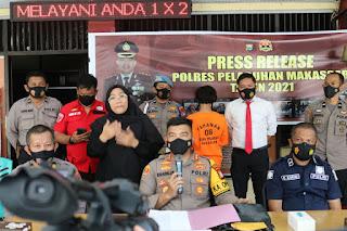 Release Kasus Pencurian, Kapolres AKBP Kadarislam imbau Masyarakat agar Waspada Saat Berbelanja dibulan Ramadhan