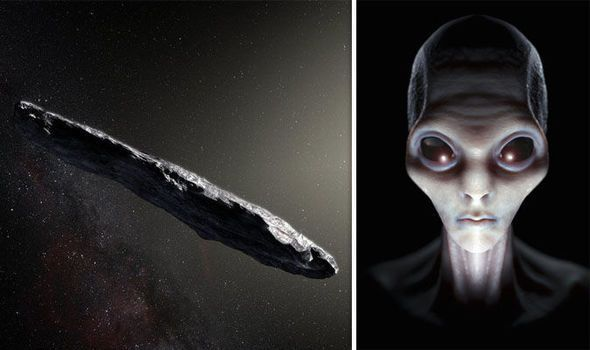Các tiểu hành tinh đang bay quanh Trái Đất có thể là tàu vũ trụ của người ngoài hành tinh theo dõi loài Người