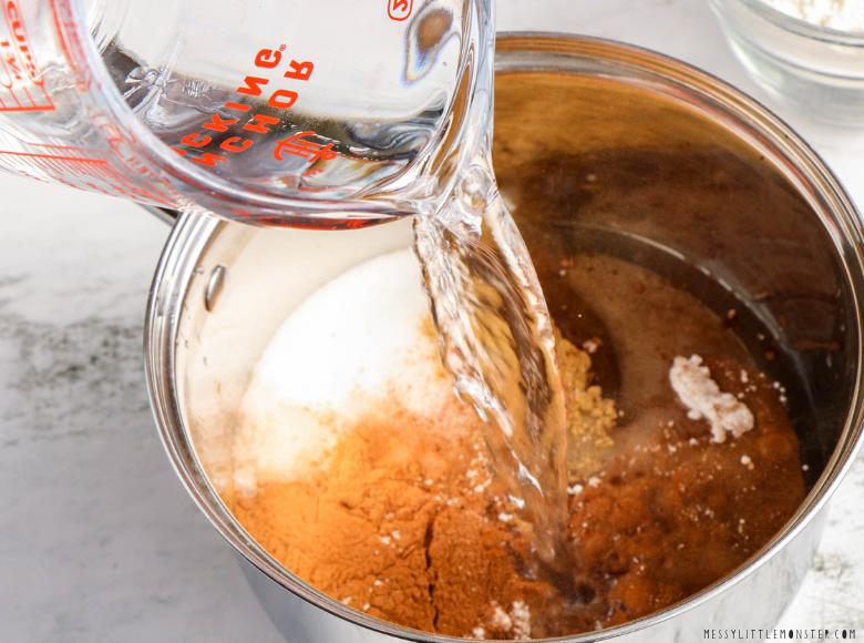 How to make gingerbread playdough