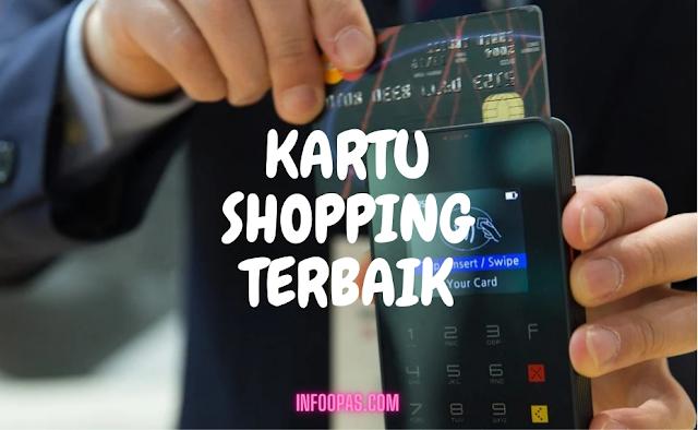 Kartu shopping terbaik indonesia dapat point cashback