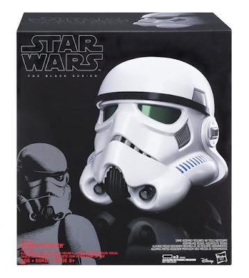 JUGUETES - STAR WARS Casco Electrónico Stormtrooper : The Black Series 2016 Hasbro B9738 | A partir de 8 años Comprar en Amazon España