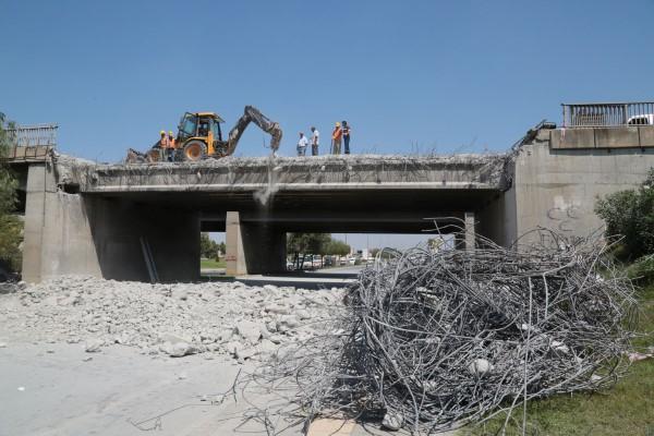 D-400'de Köprü Yenileme Çalışması,adana haberleri,adana haber,manset adana,adana manset,adana