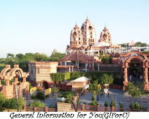 isckon-temple-ISKCON Hare Krishna Temple-Best Tourist Places to Visit in Delhi India-GIforU