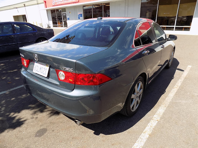 Acura TSX after being repainted at Almost Everything Auto Body.
