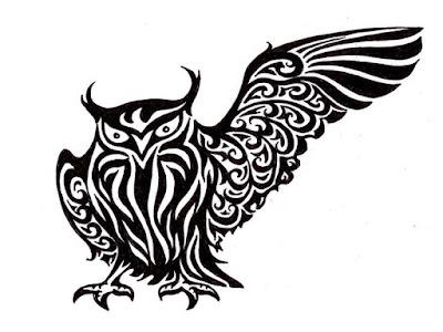owl tattoo designs on hand