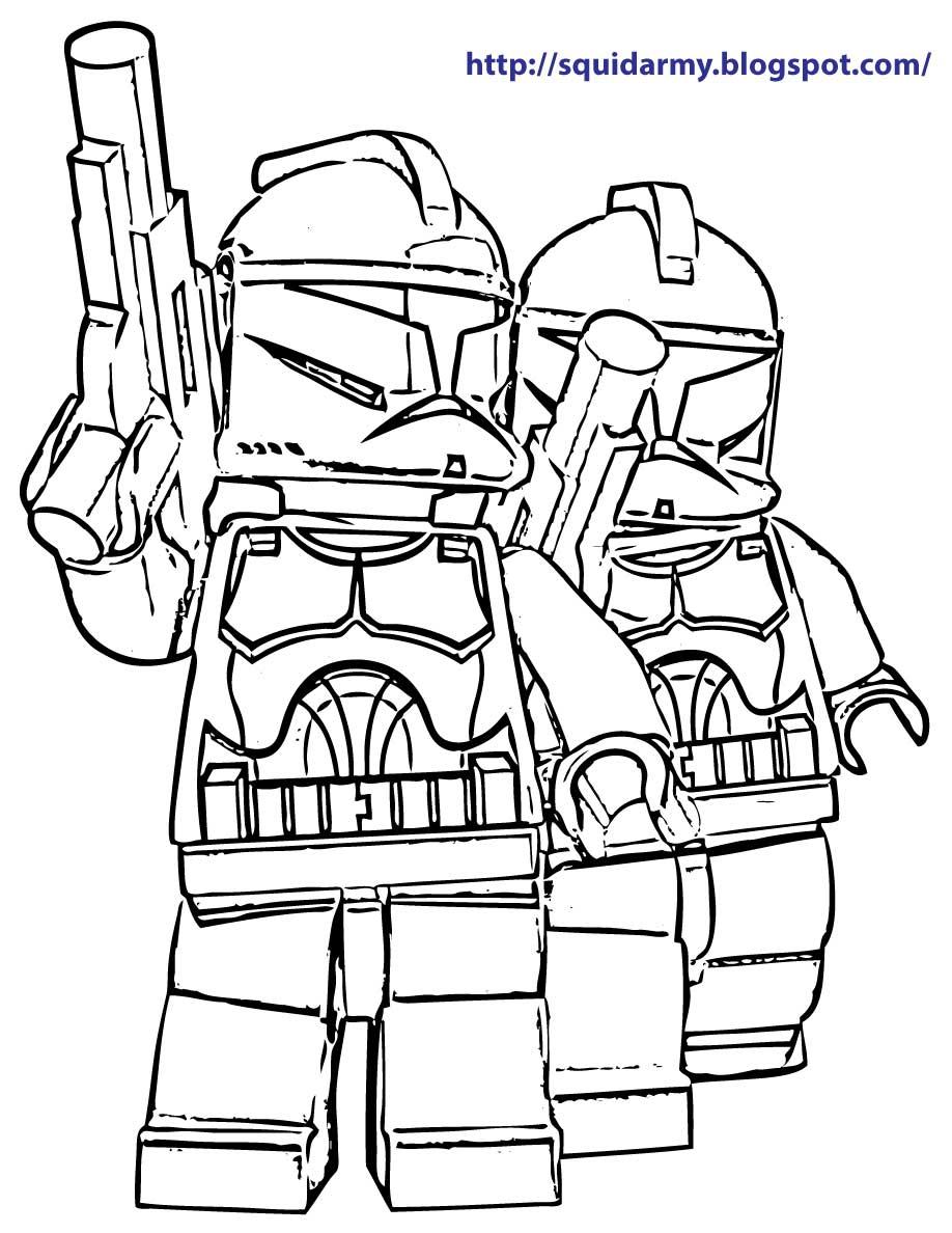 напечатай и играй звездные войны Star Wars раскраски