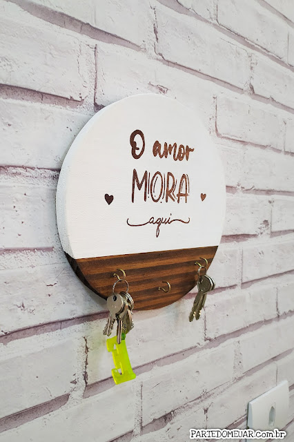Porta chaves diy