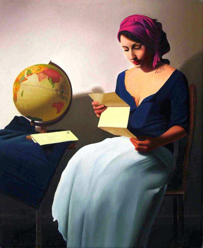 Элегантность в живописи. Michael de Bono 15