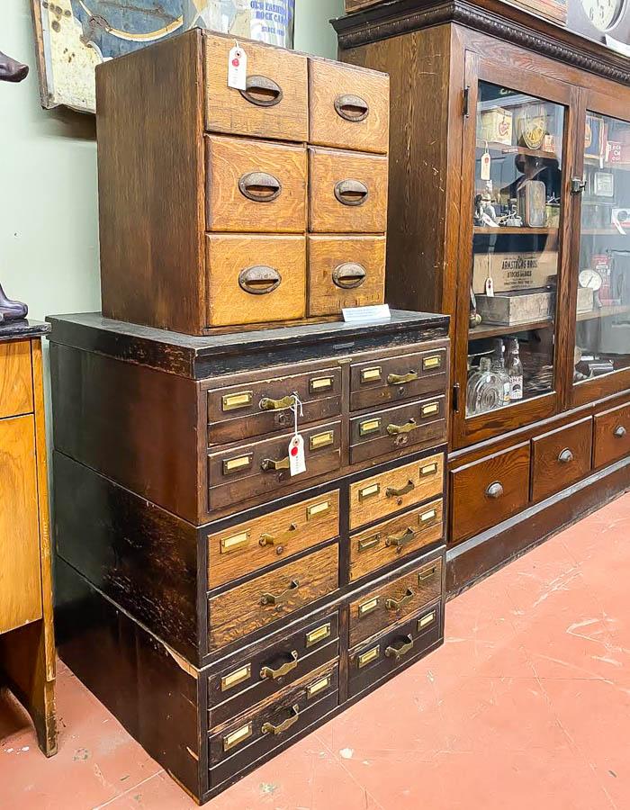 Vintage drawer cabinets