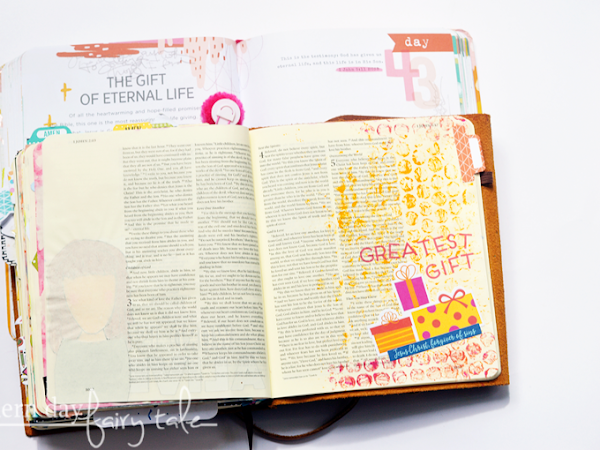 100 Days of Bible Journaling: Days 43-49