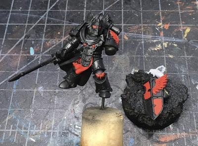 Horus Heresy Age of Darkness Dark Angels Praetor WIP