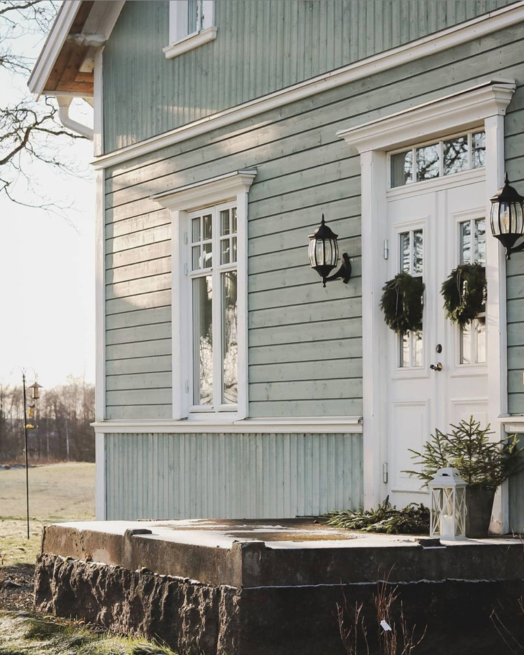 A Charming Swedish Country Home with Festive Touches