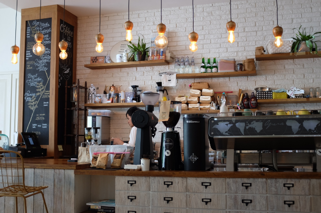 Cafeteria - Lugar onde trabalham os baristas