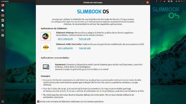 EL ESCRITORIO Y LAS APLICACIONES DE SLIMBOOK OS