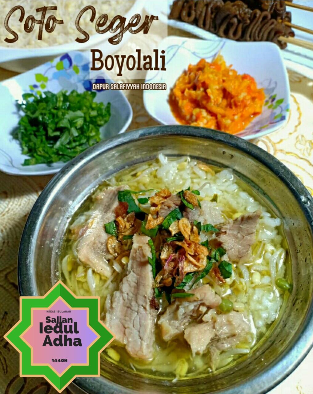 Resep Soto Boyolali : resep, boyolali, Resep, SEGER, BOYOLALI