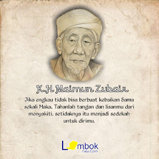 Pesan Indah K.H Maimun Zubair