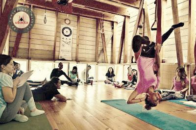 formaçao aero yoga