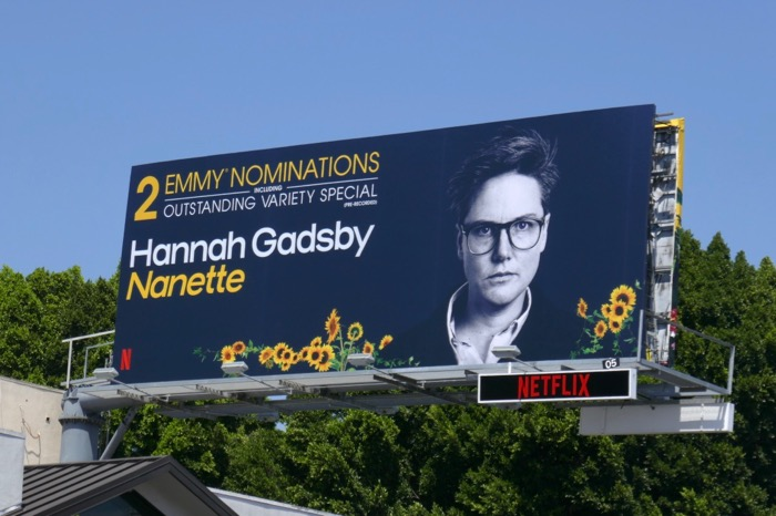 Hannah Gadsby Nanette 2 Emmy nominations billboard
