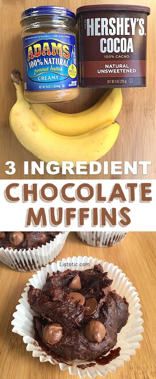 Rich & Healthy Chocolate Muffins