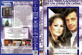 Carátula dvd: Las tribulaciones de un chino en China