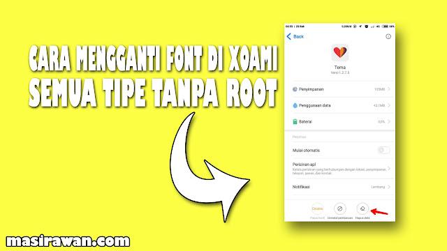 Cara Ganti Font Xiaomi Semua Tipe Tanpa Root Dengan Mudah