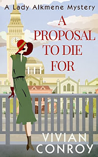 Book cover of A Proposal To Die For by Vivian Conroy