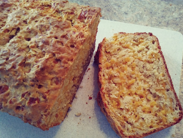 Savory Cheddar Cheese Bread