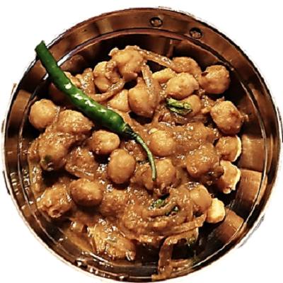 The dish of Punjab, chole(chickpeas) puri is the most popular item in India and also famous at the international level. The recipe of this healthy, energetic food is given here. The recipe is of only chickpeas without onion, garlic.