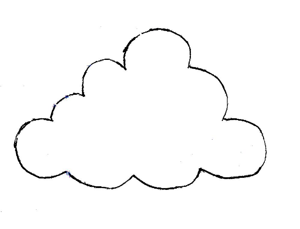 printable clouds templates costumepartyrun