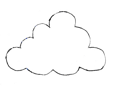 The Craftinomicon: Rain Cloud Brooch Pattern