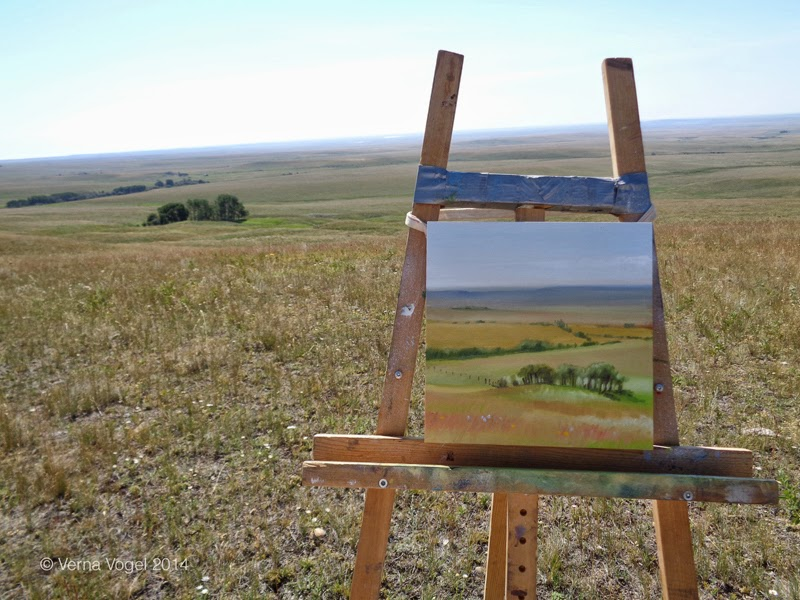 verna vogel plein air painting