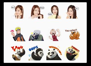 Trik Cara Download Stiker Berbayar Premium LINE Gratis Dan Koin Gratis cover