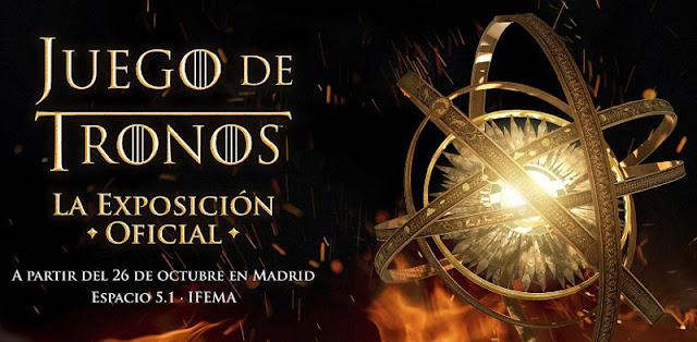 La exposición oficial de 'Juego de Tronos' llega por fin a la capital de España.
