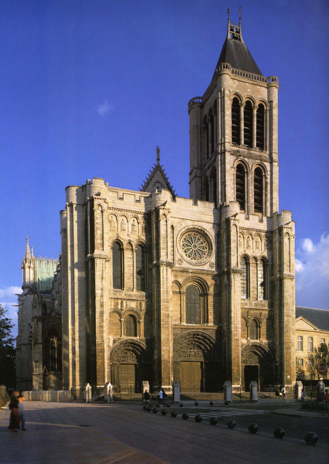 Saint Denis Gard: Timeline Of Gothic Architecture