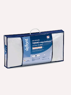 Almohada de fibra TERMO-reguladora de Velfont.