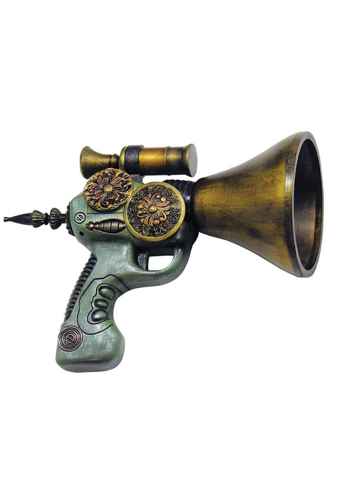 The Amazing Steampunk Space Gun