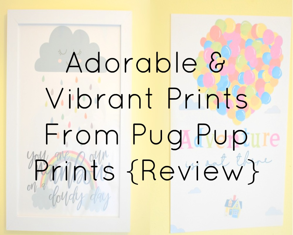 Adorable & Vibrant Prints From Pug Pup Prints Review