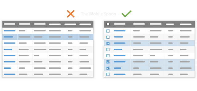 Support multiple selections for bulk actions