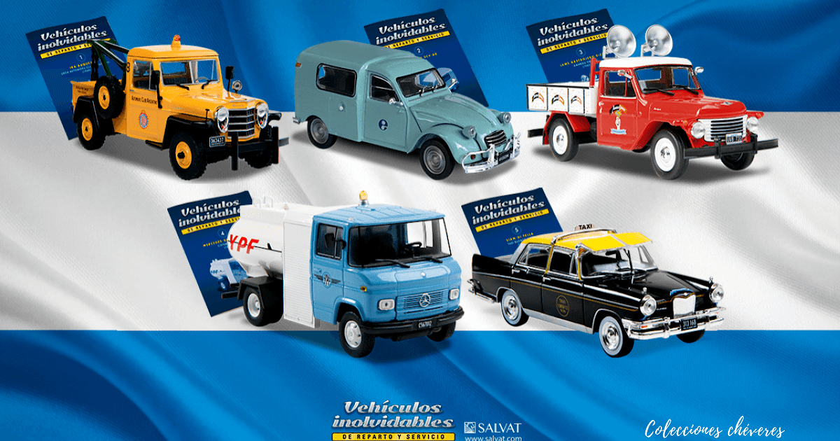 Colecciones Chéveres Vehículos Inolvidables De Reparto Y Servicio 1 43 Salvat Argentina