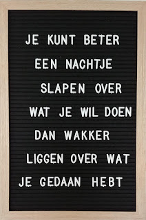 Busy Bessy Creatief Letterbord Quotes