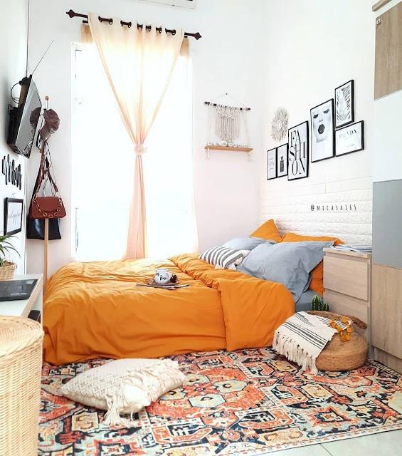Desain Kamar Tidur Remaja Simple