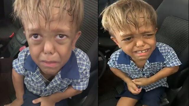 بسبب التنمر طفل صغير يرغب في الانتحار