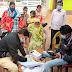 धवाटाँड़ के जाँच शिवीर में कुल 31 लोगों का सेम्पल संग्रह किया गया ।
