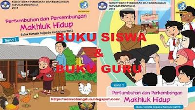 Buku Kelas 3 Tema 4 Kurikulum 2013 Edisi Revisi 2018 (Guru dan Siswa)