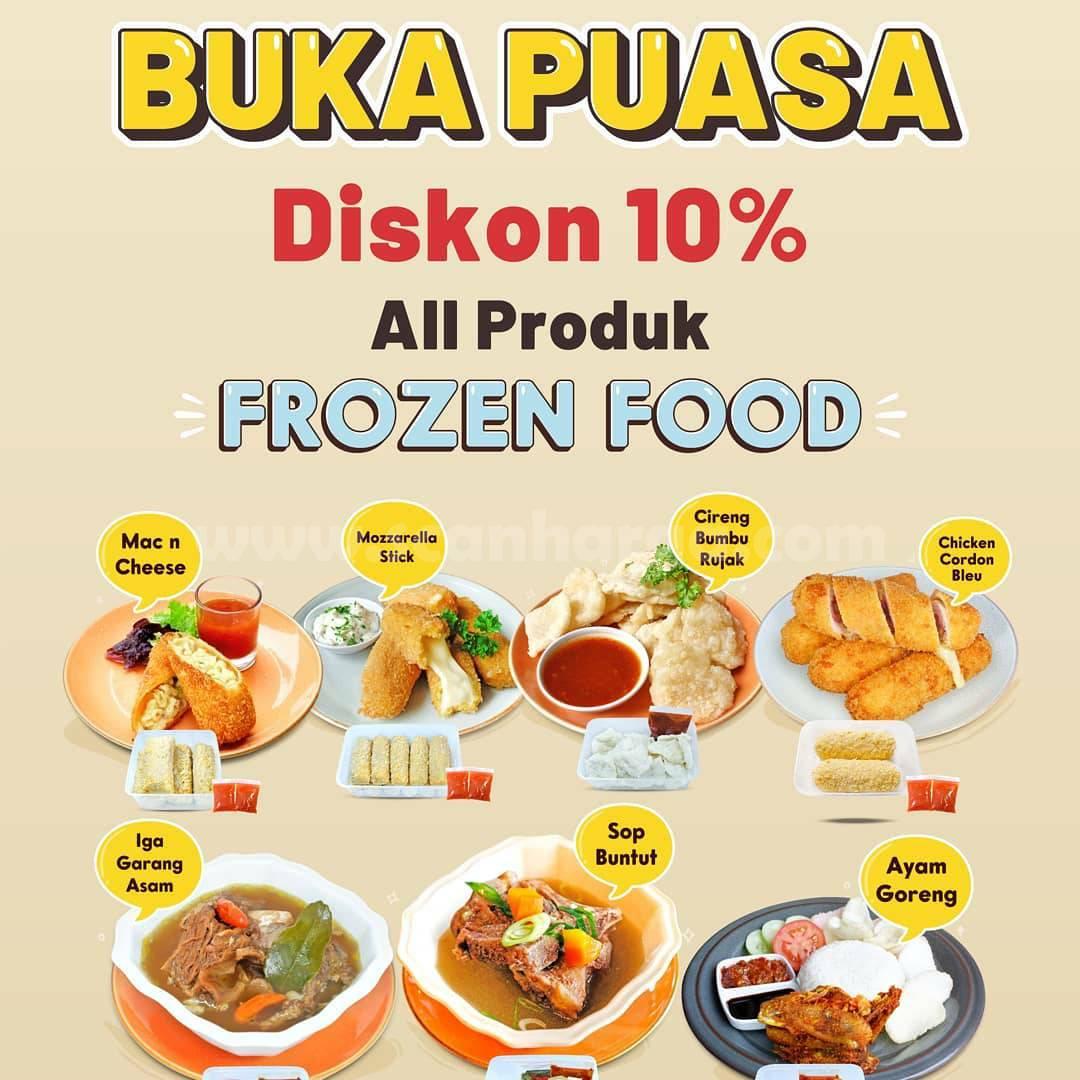 Promo GIGGLE BOX BUKA PUASA – Diskon 10% untuk Semua Produk Frozen Food